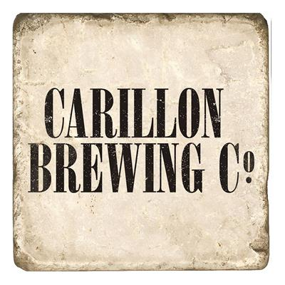 Carillon Brewing Company Marble Coaster
