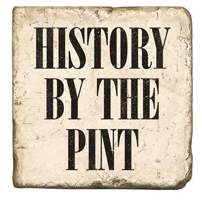 History By Pint Marble Coaster