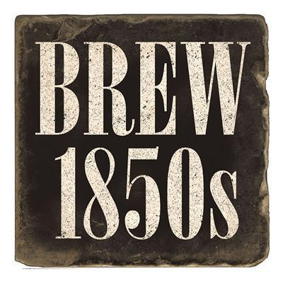 Brew 1850s Marble Magnet