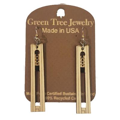 Deeds Carillon Bell Tower Earrings,C083