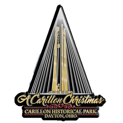 Carillon Christmas Metallic Magnet