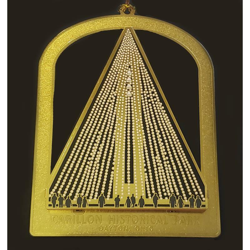 2-D Carillon Tree of Light Ornament