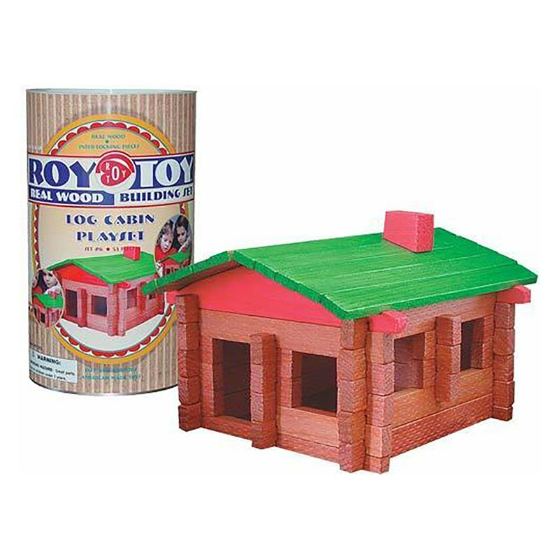 Small Log Cabin Building Set,RTMCC