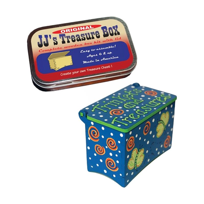 Treasure Box Wood Kit,WKTB