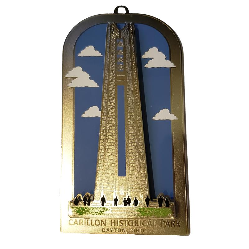 2-D Deeds Carillon Ornament,COLOR