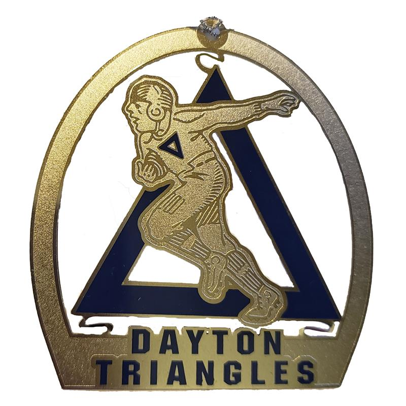 Dayton Triangles Ornament