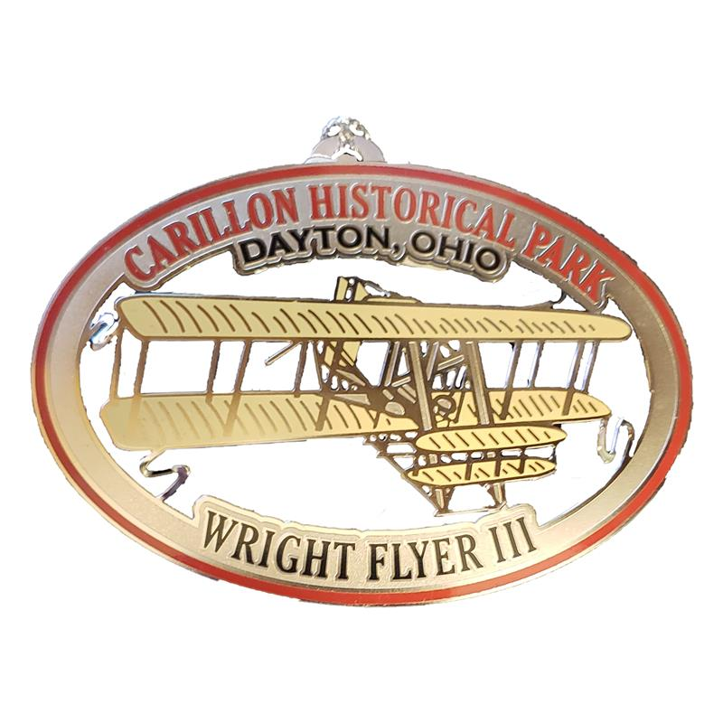 Wright Flyer III Ornament,COLOR
