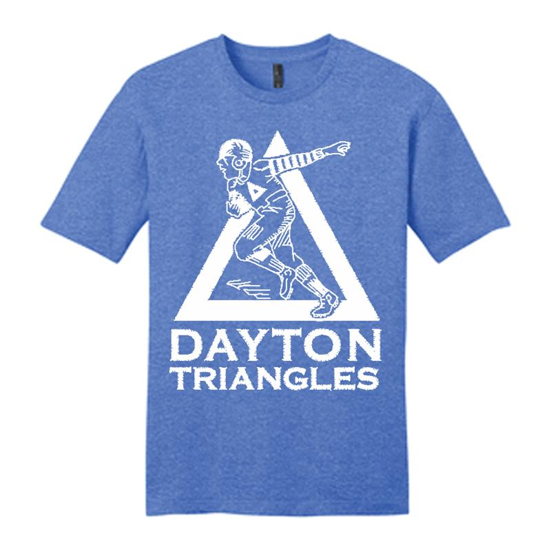 Dayton Triangles T Shirt,DT600 ROYAL