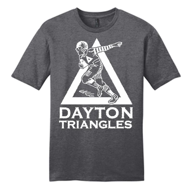 Dayton Triangles T Shirt,DT6000 GREY
