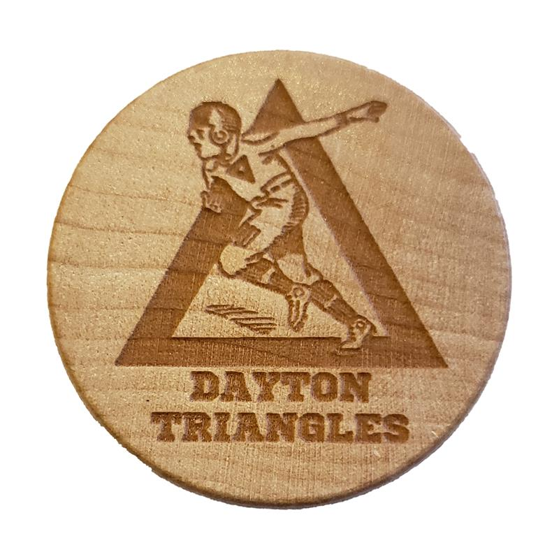 Dayton Triangles Wine Stopper
