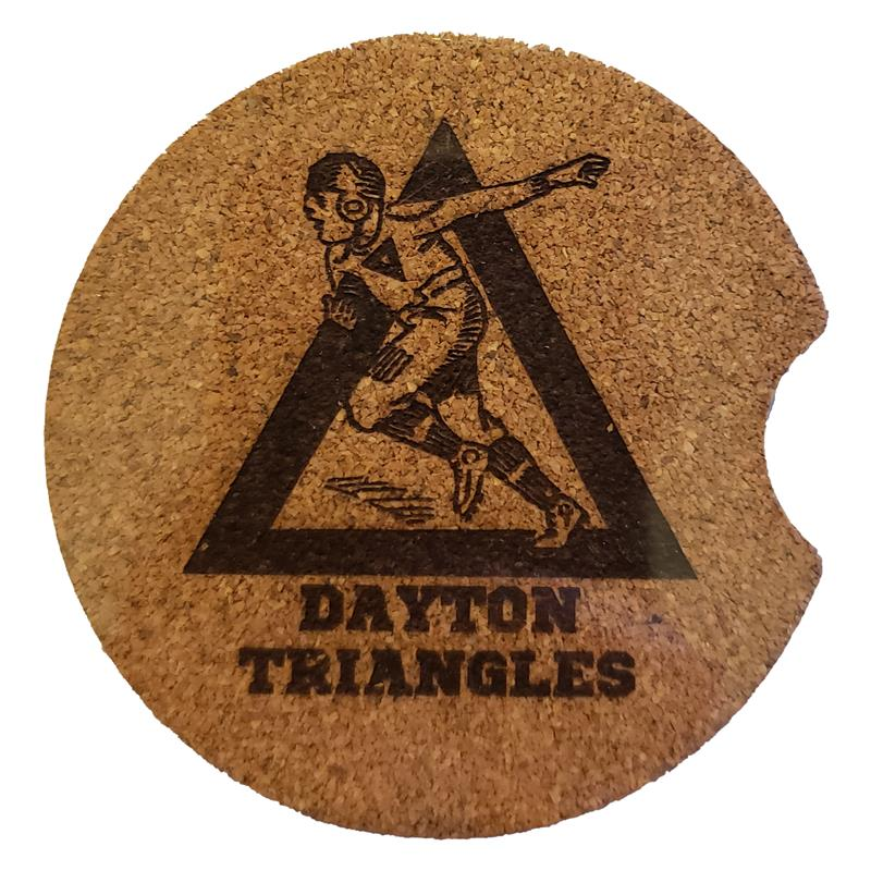 Dayton Triangles Car Coaster Pack
