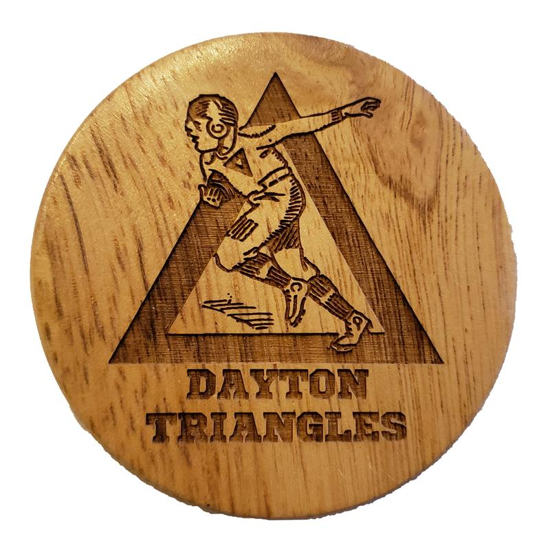 Dayton Triangles Bottle Opener