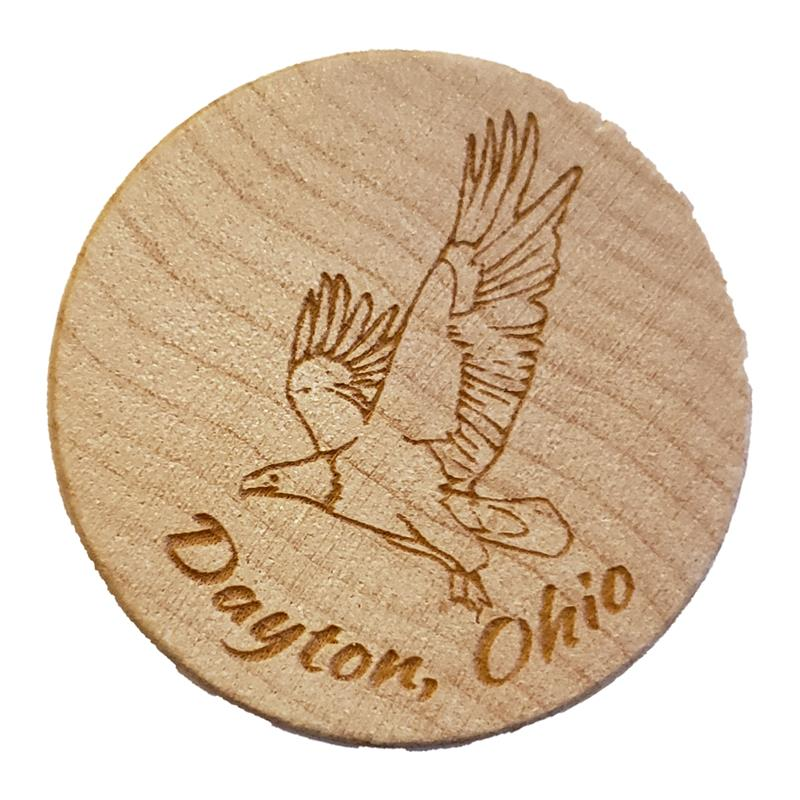 Dayton, Ohio Eagle Wine Stopper