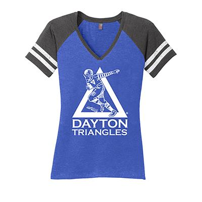 Dayton Triangles Ladies V Neck,DM476