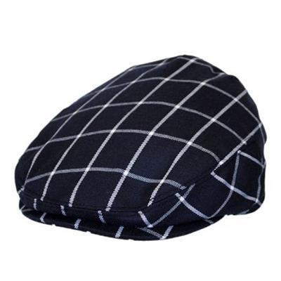 Baby Newsboy Hat Plaid