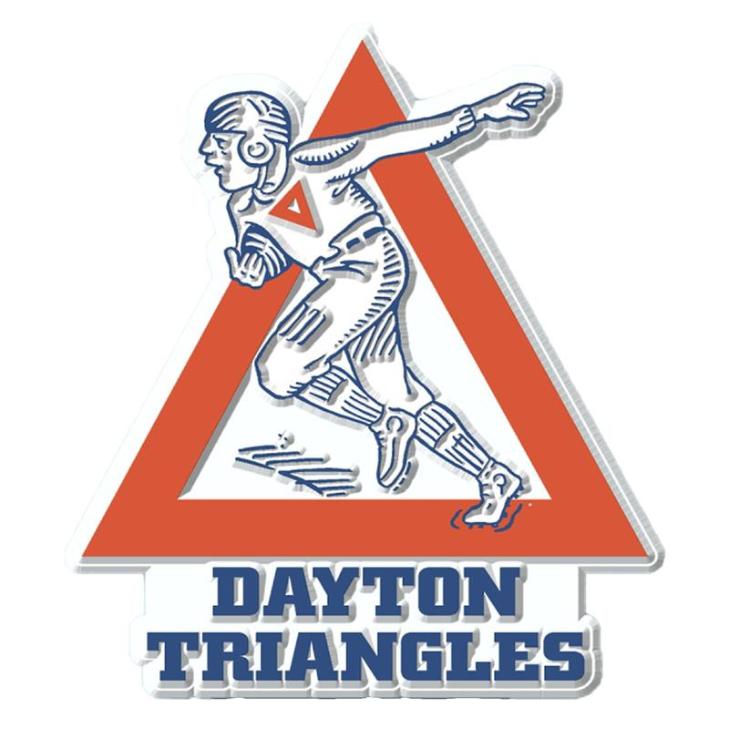 Dayton Triangles Rubber Magnet